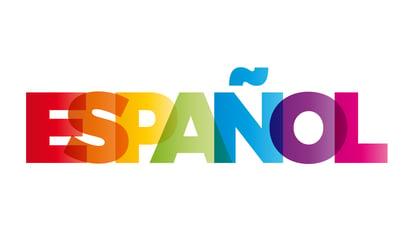 The word Spanish in Spanish
