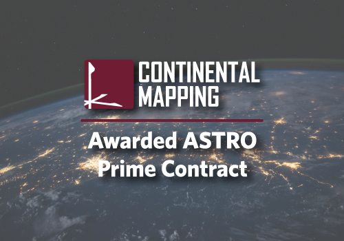 Continental Mapping Consultants Awarded GSA FEDSIM ASTRO Prime Contract