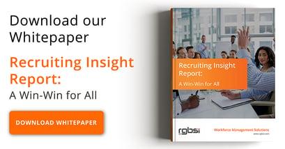 Recruiting Insight Report Whitepaper