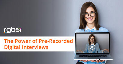 Pre-Recorded Digital Interviews