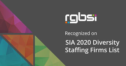RGBSI on SIA 2020 Diversity Staffing Firms List