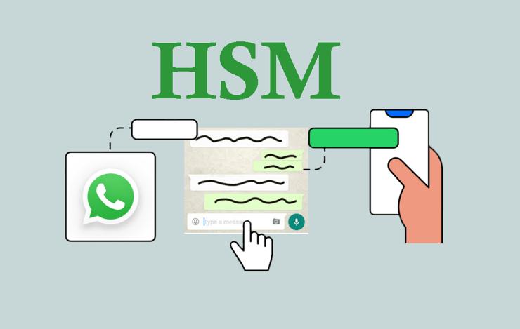 ¿Qué son los HSM de la API de WhatsApp Business?