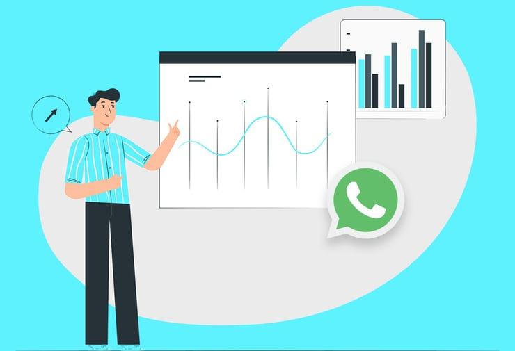 ¿Cómo ver las estadísticas de WhatsApp Business?