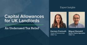 Capital Allowances - UK Tax Relief