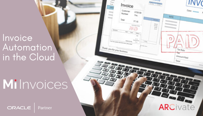Mi Invoices is a SaaS Oracle Invoice Automation Software for Accounts Payable. For Oracle eBusiness Suite, ERP Cloud. JDE and PeopleSoft