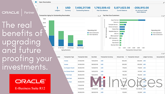 Oracle E-Business Suite - Maximise your business investment  by upgrading EBS, enhancing and automating