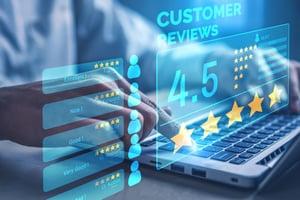 Good online reviews