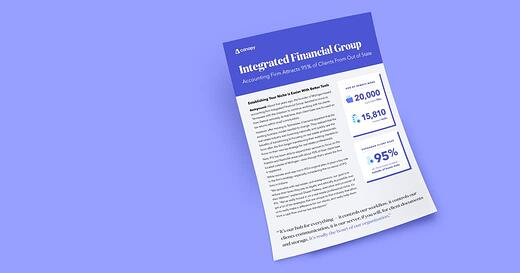 Integrated Financial Group: Accounting Firm Attracts 95% of Clients From Out of State
