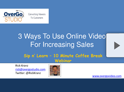 online video increases sales webinar