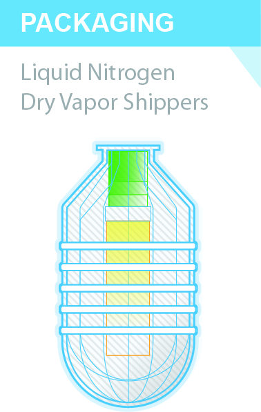 Cryoport dry shipper