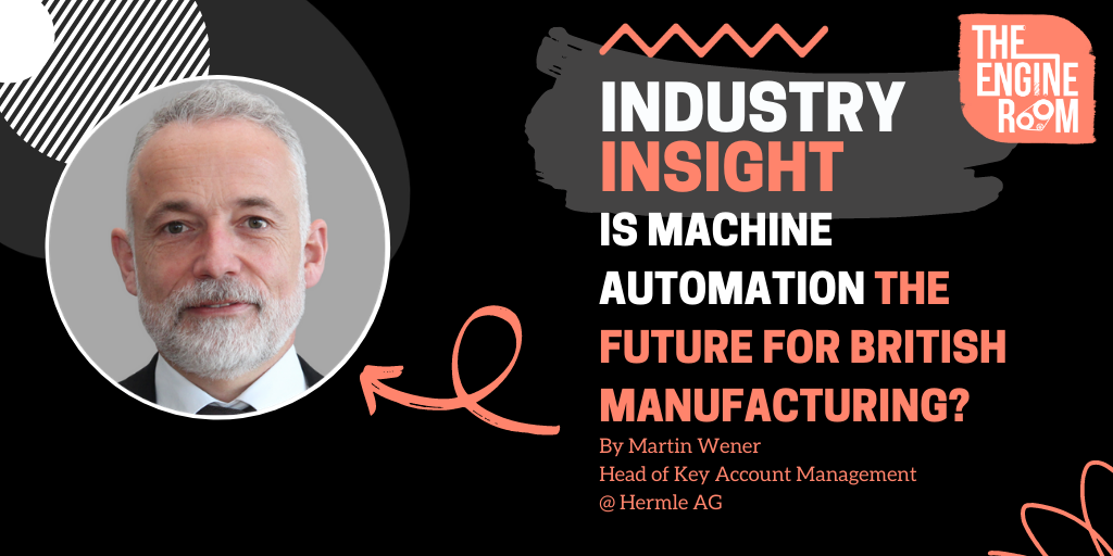 Is Machine Automation the Future for British Manufacturing?