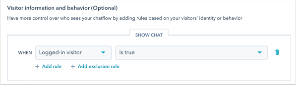 logged-in-targeting-rules
