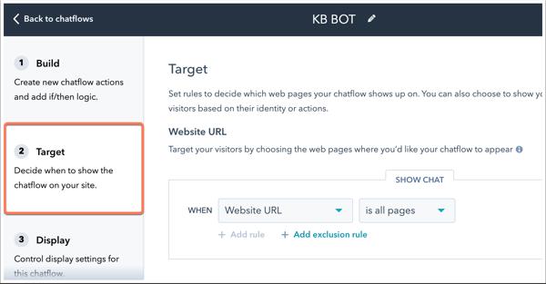 target-chatflows