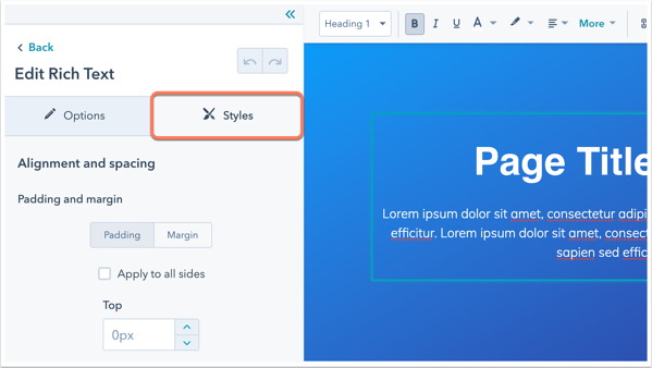 page-editor-styles-tab