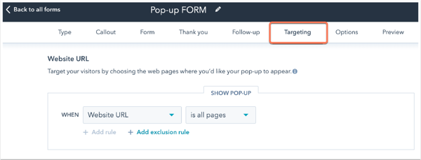 pop-up-forms-targeting