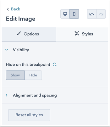 edit-specific-module-for-mobile