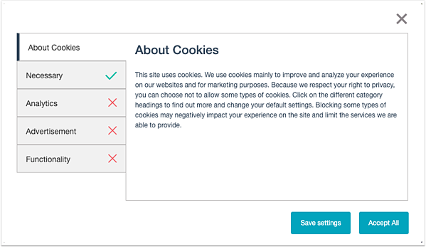 show-cookie-categories