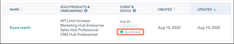 client-status