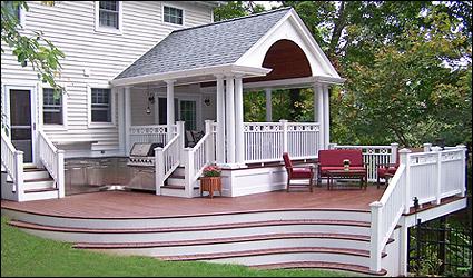 Decks orange county ny for Cedar decks pros and cons