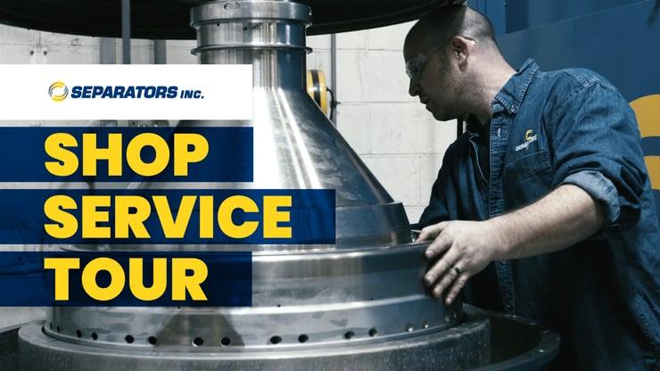 Shop Service Tour Separators Inc. graphic