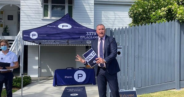 Peter Burgin Place estate agents biggest ever auction weekend