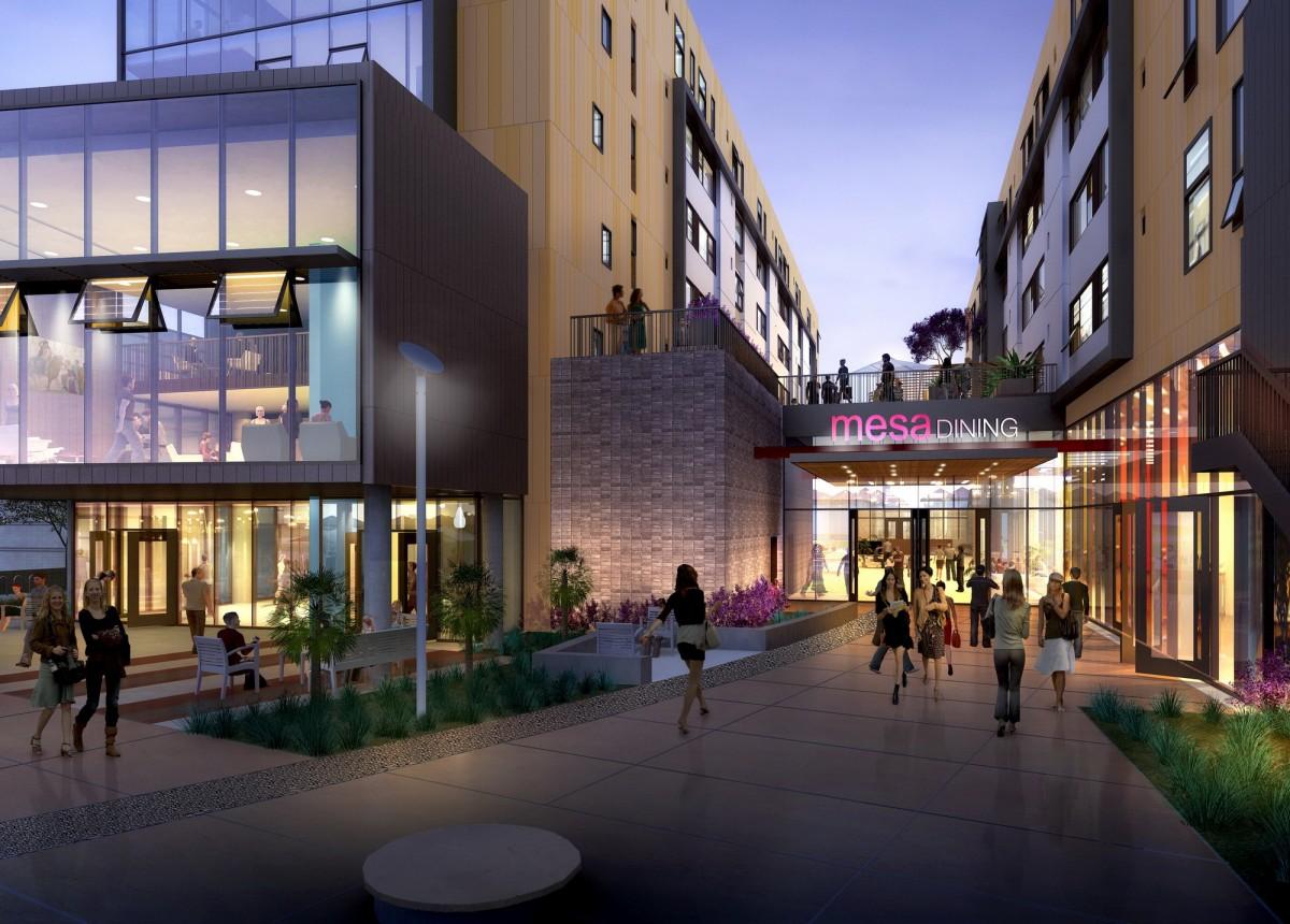 Uc Irvine Mesa Court Expansion