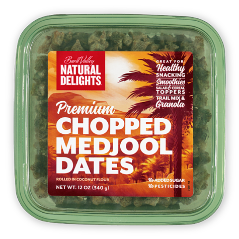 Natural Delights Premium Chopped Medjool Dates