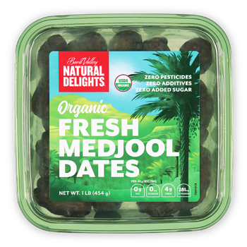 Natural Delights Organic Fresh Medjool Dates