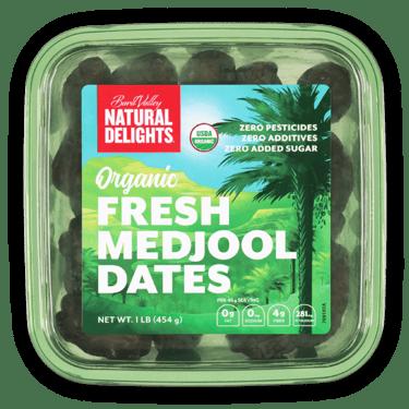Natural Delights Organic Fresh Medjool Dates