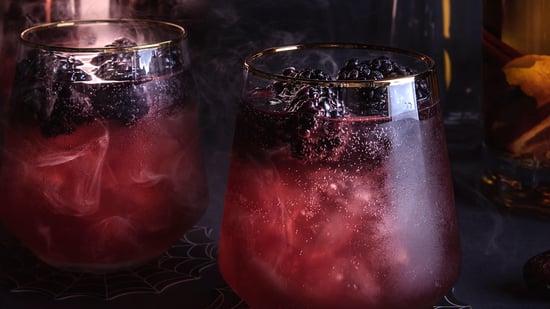 medjool date blood orange rum spiced punch