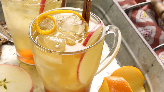 medjool date spiced rum cocktail