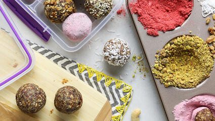 roll your own medjool date energy balls