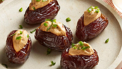 spicy jalapeno and chipotle cheese stuffed medjool dates