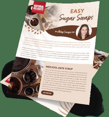 Natural Delights Easy Sugar Swaps Guide