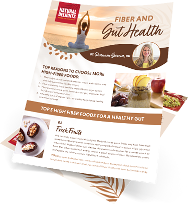 Natural Delights Fiber and Gut Health Guide