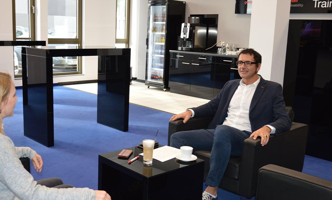 Dr. Dusko Lukac im Interview mit Eplan