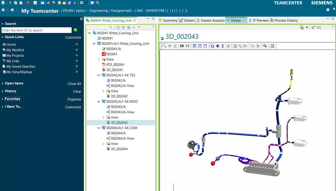 Siemens Teamcenter Screenshot