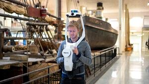 Testing NavVis VLX in the world's biggest science & technology museum