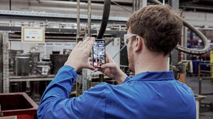 Digital factory use case: 5S and Gemba Walks with NavVis IVION Go