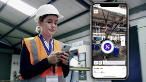Digital factory use case: Defect reporting with NavVis IVION Go