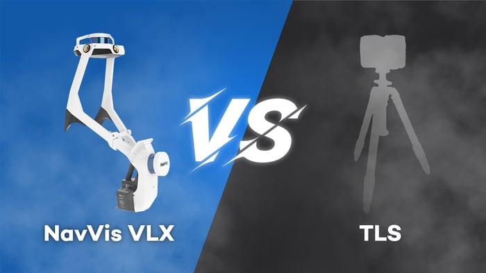 NavVis VLX versus terrestrial laser scanner
