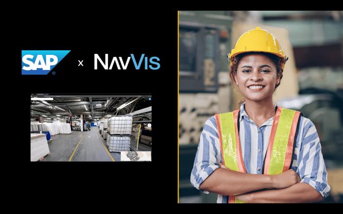 SAP NavVis plant maintenance
