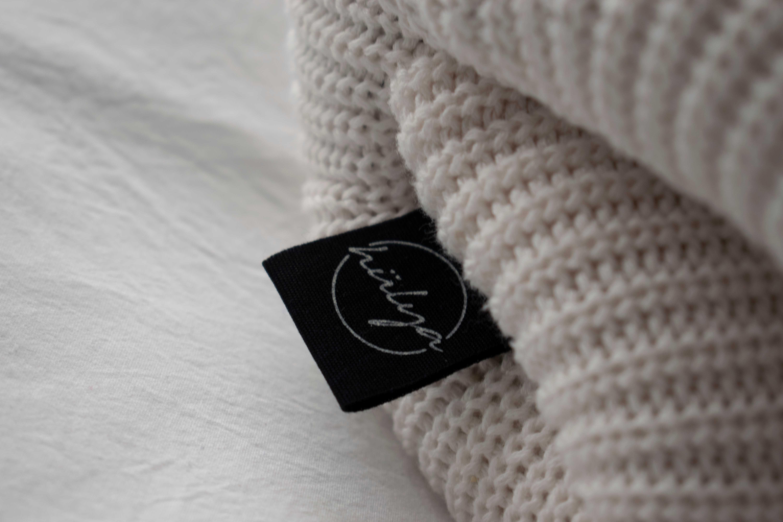 0153_Organic Cotton Printed Label