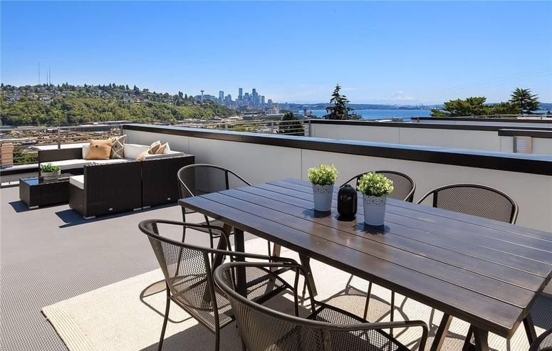 Magnolia | Roof Deck | Blackwood Builders Group