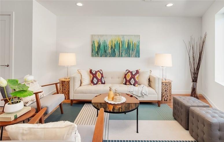 Magnolia | Living Room | Blackwood Builders Group