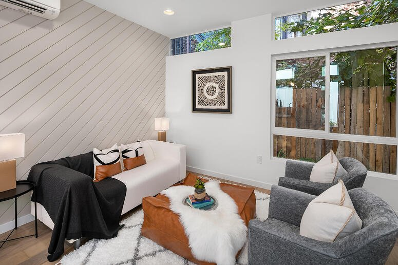 Capitol Hill | Living Room | Blackwood Builders Group