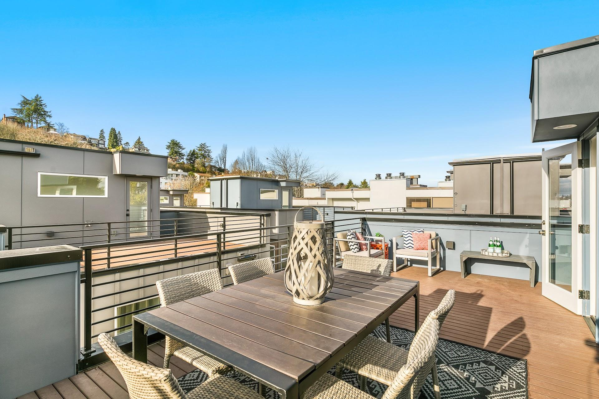 South Lake Union | Roof Deck | Blackwood Builders Group