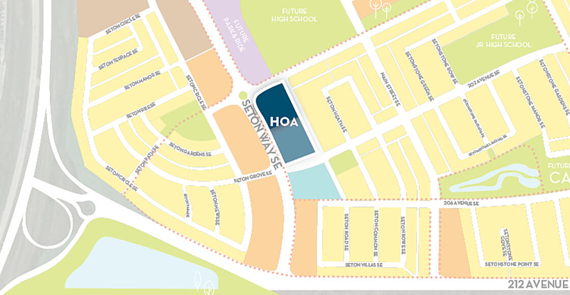 Hubspot Map - HOA expansion