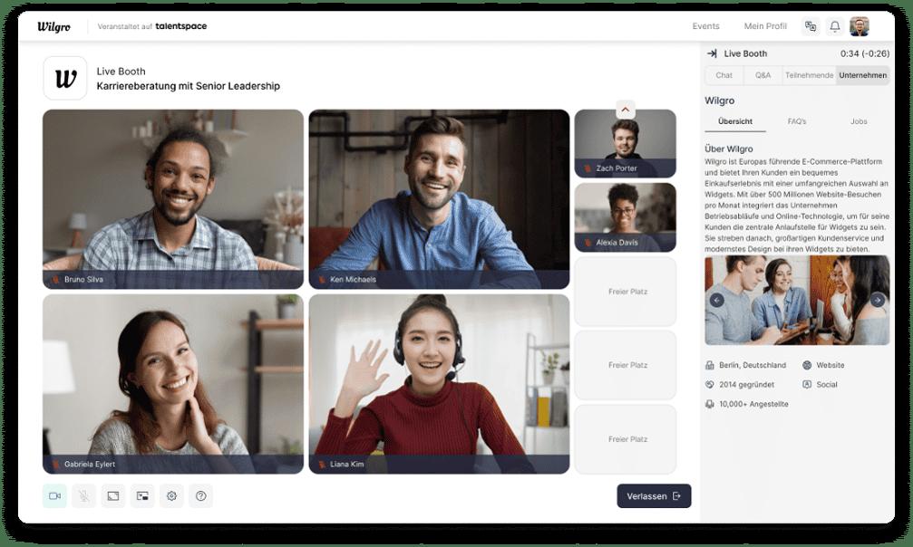 Virtual Job Fair Platforms
