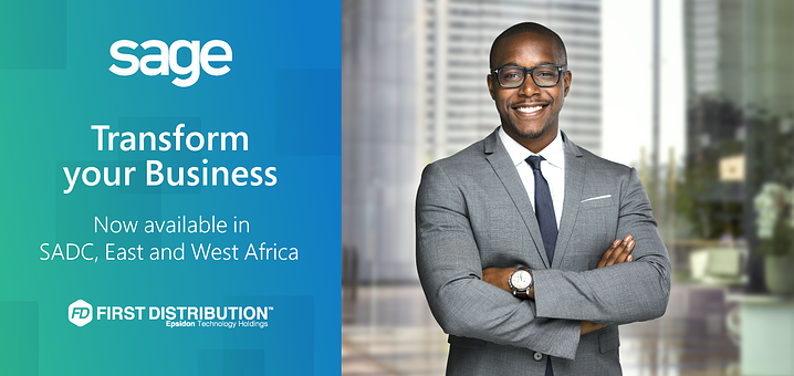First Distribution Announces Strategic Partnership with Sage for SADC, East and West Africa